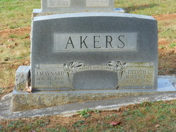 Dedith Lizabell <i>Conner</i> Akers