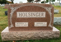 Miriam Lovina <i>Musselman</i> Holsinger