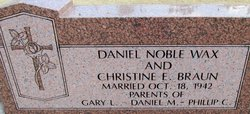 Daniel Noble Wax