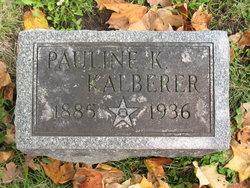 Paulline K Kalberer