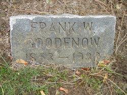 Frank W Goodenow