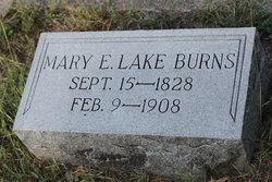Mary Elizabeth Eliza <i>Lake</i> Burns