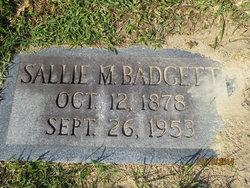 Sallie Jane <i>Marion</i> Badgett
