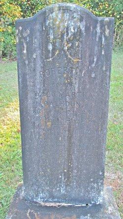 Pvt Robert M Calhoun