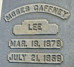 Moses Gaffney Lee