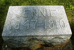 Jane Laura Jennie <i>McDaniel</i> Ballard