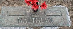 Martha Jewel Mattie <i>Orem</i> Matthews