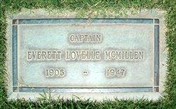 Capt Everett Lovelle McMillen