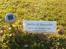 Marlyn M Marilyn <i>Hoff</i> Bargender