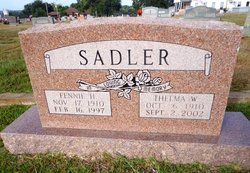 Thelma W. <i>Harvey</i> Sadler