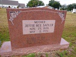 Jeffie Davis <i>Kee</i> Sadler