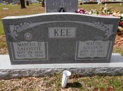 Mattie D. <i>Solomon</i> Kee