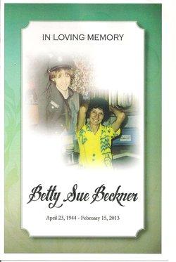 Betty Sue <i>Young</i> Beckner
