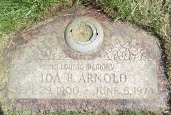 Ida B <i>Smith</i> Arnold