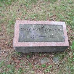 Mary <i>Sayre</i> Compton
