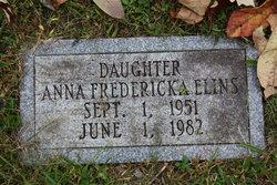 Anna Fredericka Elins