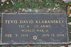 Tevis David Klabanskey