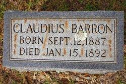 Claudius Barron
