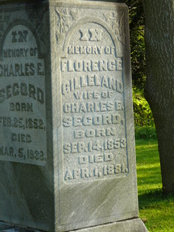 Florence <i>Gilleland</i> Secord