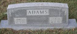 Lucretia Lou <i>Hale</i> Adams