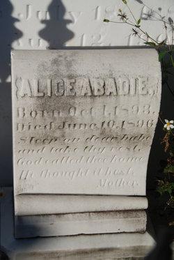 Alice Abadie