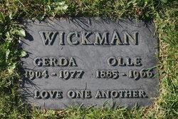 Olle Wickman