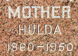 Hulda Carolina <i>Nellson</i> Berg