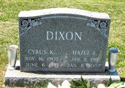 Hazel <i>Emig</i> Dixon