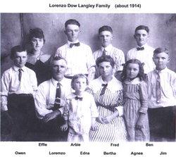 Bertha Maud <i>Clinkinbeard</i> Langley