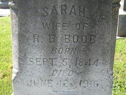 Sarah <i>Sheary</i> Boob