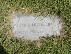 Ann K. <i>Learned</i> Burroughs