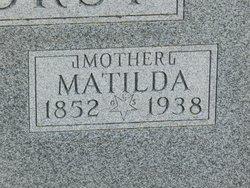 Matilda Ann <i>Foster</i> Rehorst