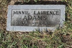 Minnie Laurence Adams