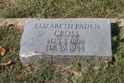 Elizabeth <i>Paden</i> Cross