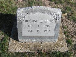 August W. Bahr