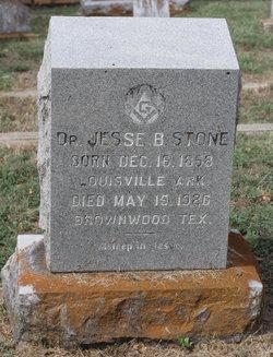 Dr Jesse Banister Stone