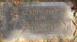 Gladys <i>Barr</i> John