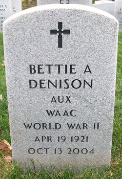 Bettie A <i>Andrews</i> Denison
