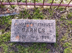 Elizabeth <i>Staples</i> Barnes