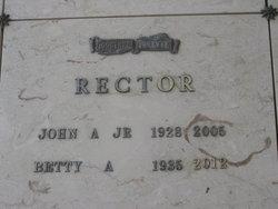 Betty A. Rector