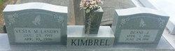 Vesta M. <i>Landry</i> Kimbrel