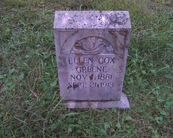 Ellen A <i>Cox</i> Greene