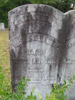 Mary Sample <i>Alexander</i> Abernethy