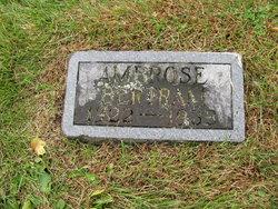 Ambrose Bertram