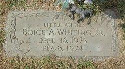 Boice A Whiting, Jr