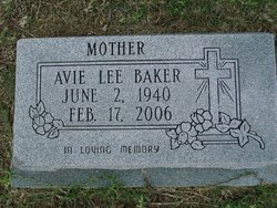 Avie Lee <i>Tune</i> Baker