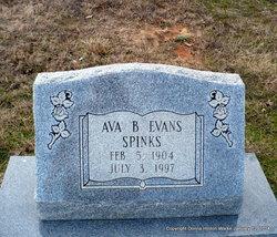 Ava B <i>Evans</i> Spinks