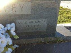 Sarah Sallie <i>Williamson</i> Mosley