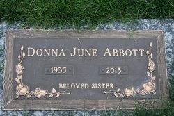 Donna June Abbott