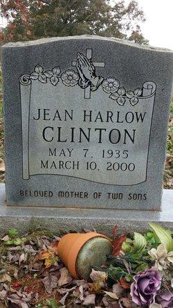 Jean <i>Harlow</i> Clinton